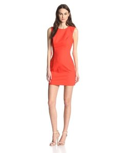 French Connection Women's Super-Stretch Solid-Sheath Dress