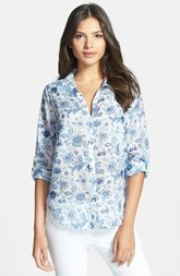 Joie 'Katrine' Cotton & Silk Blouse