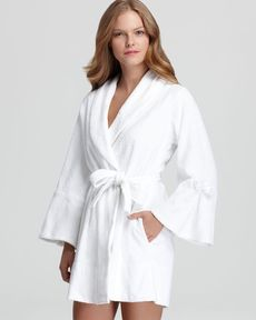 Betsey Johnson Loop Terry Bridal Robe