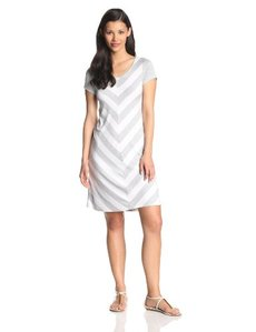 Kensie Women's Striped Jersey Dress