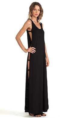 Rachel Pally Elodie Maxi Dress in Black