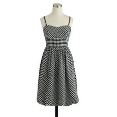 Gingham bubble dress