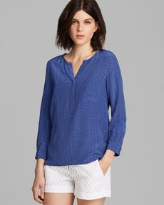 Joie Blouse - Exclusive Medallion Print Silk