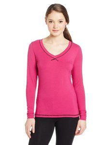 Danskin Women's Lightweight V-Neck Tee