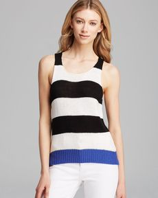Sanctuary Sleeveless Striped Tank