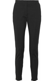 M Missoni Stretch-poplin skinny pants
