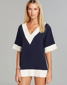 Tory Burch Lipsi Swim Cover Up Tunic