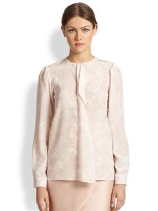Stella McCartney Silk Paisley Blouse