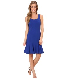Calvin Klein Lux Dress with Trumpet Skirt CD4X16Z7