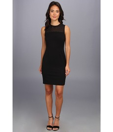 Calvin Klein Illusion Top Lux Sheath Dress