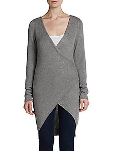Brunello Cucinelli Embellished Knit Wrap