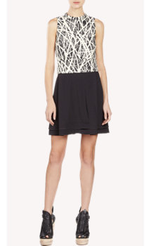 Proenza Schouler Twig-Print Dress