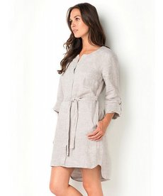 Isda & Co. Mini Shine Shirt Dress