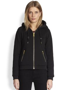 Burberry Brit Reversible Hooded Jacket
