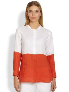 Max Mara Colorblock Shirt