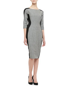 Long-Sleeve Side-Panel Dress   Long-Sleeve Side-Panel Dress