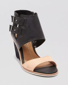 Dolce Vita Open Toe Wedge Sandals - Cambria