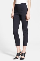 Max Mara 'Floc' Crop Sateen Pants