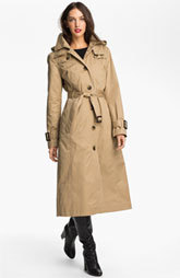 London Fog Long Trench Raincoat