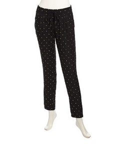 Joie Syla Pull-On Crepe Jogging Pants, Caviar