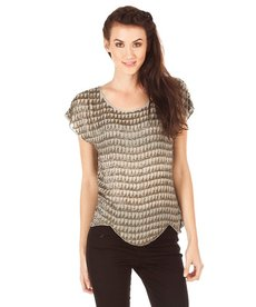 Joie Savina Beaded Top