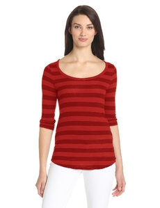 Lucky Brand Women's Avery Placket Top