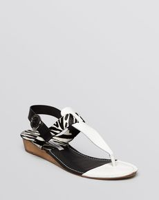 DIANE von FURSTENBERG Open Toe Sandals - Darling Demiwedge