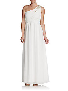 Calvin Klein Goddess Jeweled Gown