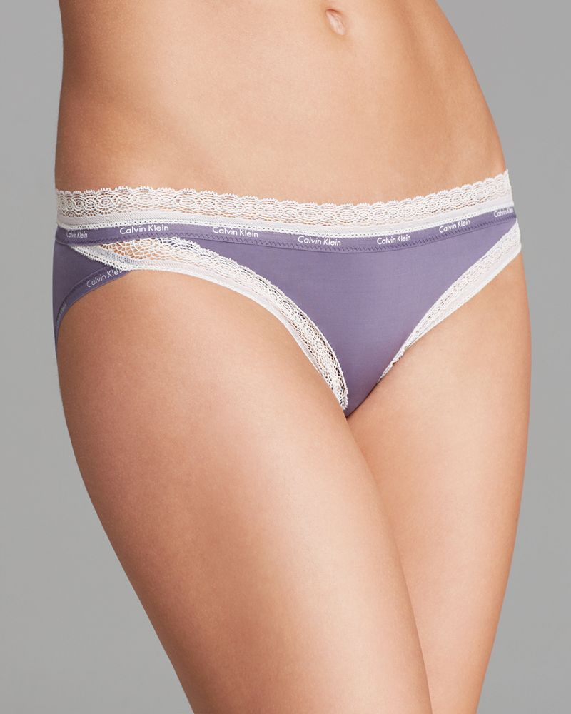 Calvin Klein Underwear Bikini - Perfectly Fit Sexy Signature with Lace #F3266