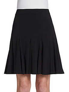 Escada Flared-Hem Skirt