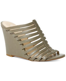 Calvin Klein Women's Phillipa Caged Wedge Sandals