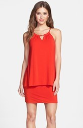 Laundry by Shelli Segal Popover Jersey Dress