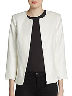 Robert Rodriguez Textured Zip-Front Jacket