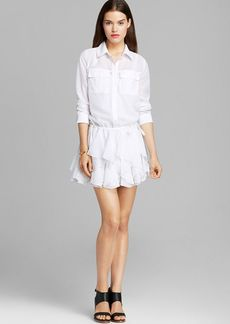 GUESS Shirt Dress - Ruffle