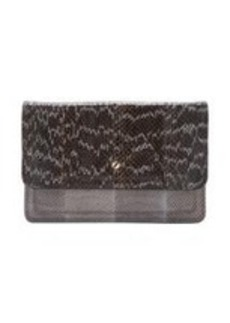 Givenchy Snakeskin Podium Clutch