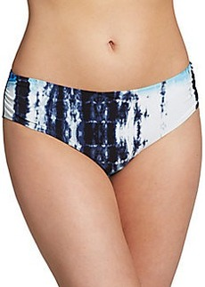 Natori Printed Full-Coverage Swim Bottom
