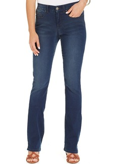 Style&co. Tummy-Control Modern Bootcut Jeans, Inkwell Wash