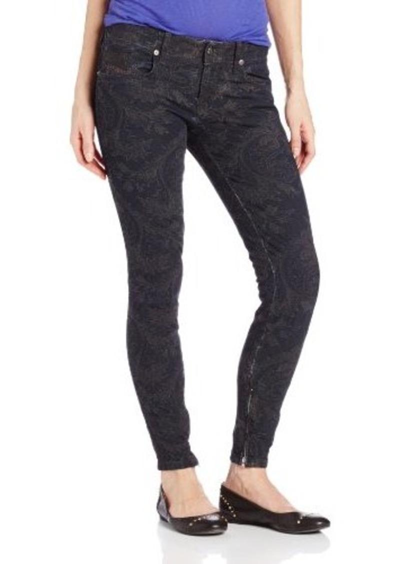 Diesel Women's Grupee Zip Super Skinny Leg Jean 0824F