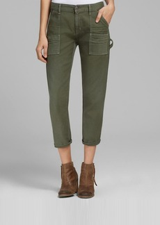 Citizens of Humanity Pants - Leah High Rise in Fatigue