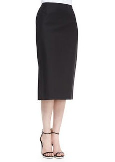 Lafayette 148 New York Dayna Below-the-Knee Skirt, Black