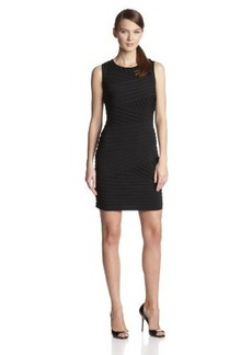 Calvin Klein Women's Sleeveless Banded Dress
