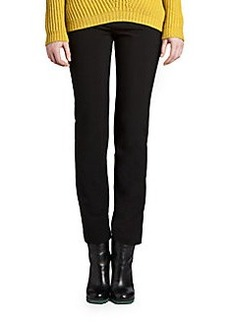 Jil Sander Stretch Wool Straight-Leg Pants