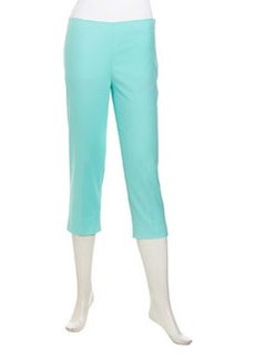 Lafayette 148 New York Stretch Twill Capri Pants, Freshwater