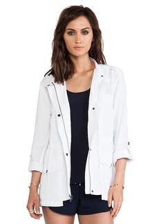 Sanctuary Travel Jacket in White