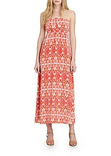 Joie Ruma Silk Printed Maxi Dress