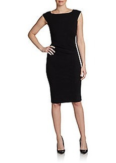 Diane von Furstenberg Ruched Sheath Dress