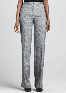 Michael Kors Samantha Donegal Tweed Pants