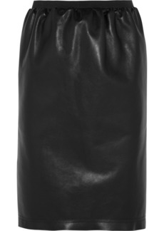 Lanvin Leather pencil skirt