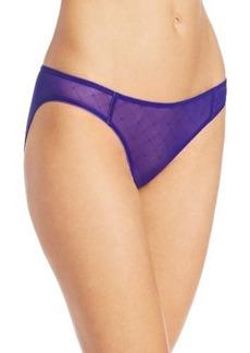 Calvin Klein Women's Seductive Comfort Illusion Bikini Panty