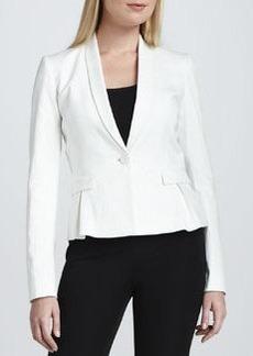 Elie Tahari Paige One-Button Jacket